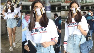 Ala Vaikunthapurramuloo actress Pooja Hegde spotted at Hyd..