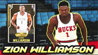 i used zion williamson in nba 2k20 myteam and it didn't go well....