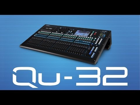 Qu-32 38 Input / 28 Output Digital Mixer