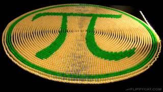 Happy Pi Day (3.14) Domino Spiral