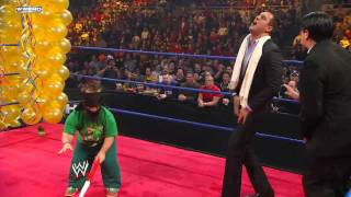Alberto Del Rio's Royal Rumble Celebration