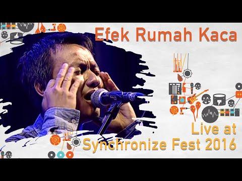 Efek Rumah Kaca live at SynchronizeFest - 30 Oktober 2016