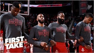 The Rockets want to avoid the Warriors until the Western Conference finals - Stephen A.   First Take