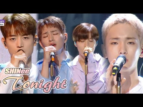 [Comeback Stage]SHINee - Tonight , 샤이니 -  Tonight Show Music core 20180630