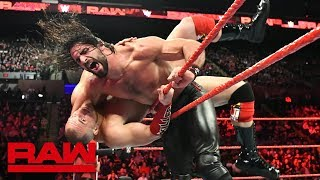 Seth Rollins vs. Mojo Rawley - Intercontinental Championship Match: Raw, May 7, 2018