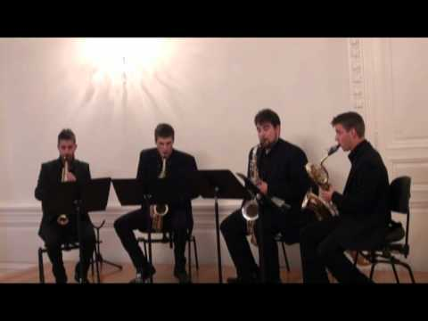 Cuarteto AdSax - Andante et Scherzo, Eugenne Bozza