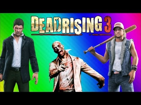 Dead Rising 3 Funny Moments Gameplay - Basics, Lego Mask, Stunt Fails, Burrito (DR3 Co-op) - Smashpipe Games