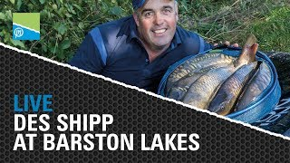 Thumbnail image for LIVE with Des Shipp at Barston Lakes