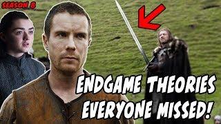 End Game Theories EVERYONE Missed! Game Of Thrones Season 8