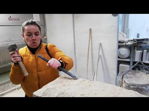 Ecole Camondo : Atelier Campus 2019 chez Lefevre, tailleurs de pierre