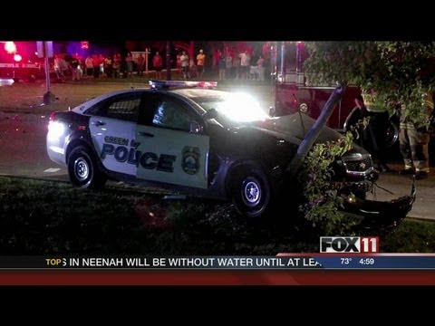 Wis. police officer involved in crash