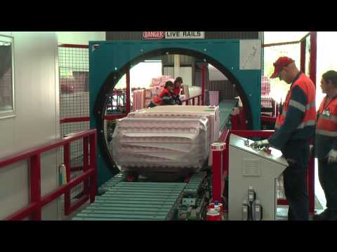 Bradbury Group Australia Wrapper-Conveyor insulated panels