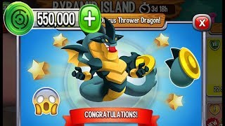Dragon City - Discus Thrower Dragon [Pyramid Island | Completed 2018]
