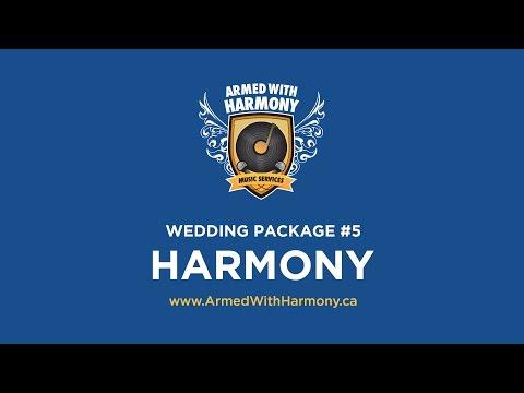 Saskatoon Wedding DJ   Armed With Harmony Wedding Package #5