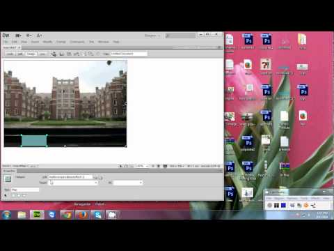 How to  make an Image map in dreamweaver