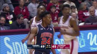 Auburn Men's Basketball vs Alabama Highlights