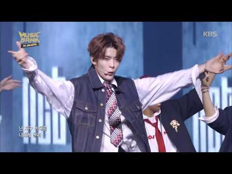 뮤직뱅크 Music Bank in JAKARTA - NCT127 - 0 mile (제로마일) (0 mile - NCT127). 20170930