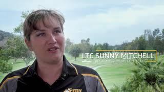 LTC Sunny  Mitchell - All Army Sports Golf