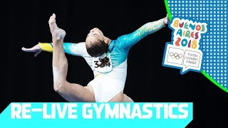 RE-LIVE | Day 06: Artistic Gymnastics | Youth Olympic Games 2018 |Buenos Aires