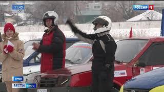 На  ипподроме прошёл открытый чемпионат Омской области по автомобильному спорту