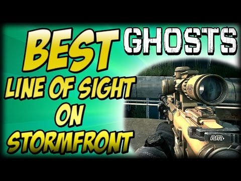 "COD Ghosts - ""BEST LINE OF SIGHT"" On Stormfront (Chaos Quik Clips) ""Call Of Duty Ghosts"" - Smashpipe Games"