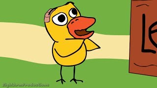 The Duck Song (Parody): Super Funny Duck Jokes ((For Big Kids ONLY))