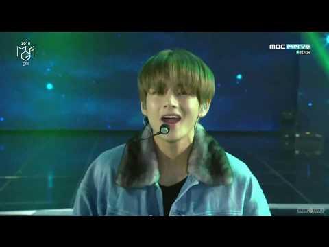 181106 BTS (방탄소년단) - Save ME + I'm Fine + IDOL (2018 MGA)