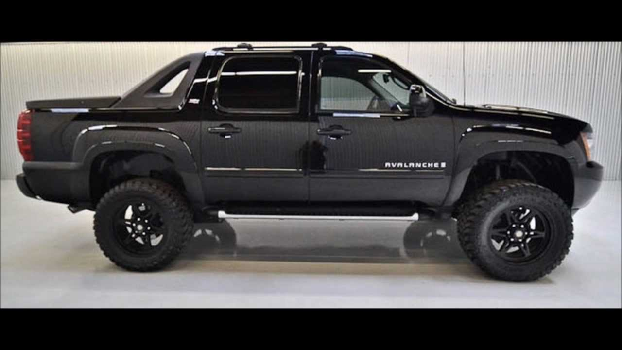 2009 Chevy Avalanche Lifted Truck For Sale - YouTube