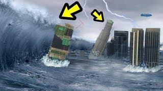 GTA 5 - The BIGGEST Tsunami EVER!! - YouTube