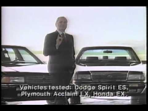 "Lee Iacocca ""Chrysler Better"" than the competition"