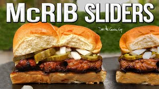 The Best Homemade McRib Sliders | SAM THE COOKING GUY 4K