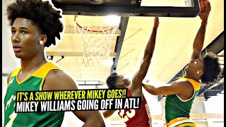 Mikey Williams Makes Defender Regret Jumping w/ Him!! Goes OFF 2nd Day Running w/ Atlanta Celtics!!
