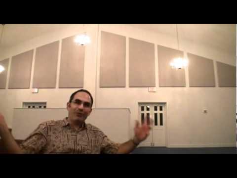 Acoustic Panels in Faith Baptist Church