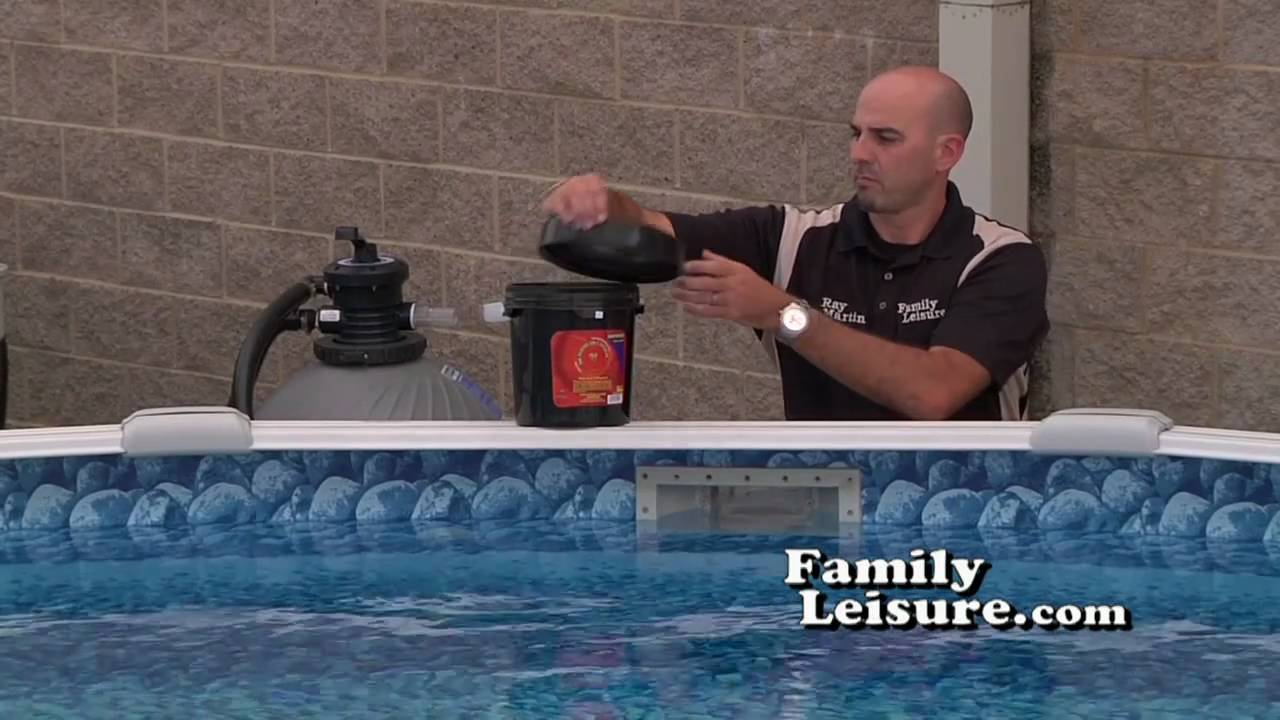 Winterizing Part 1 How To Close A Swimming Pool For The