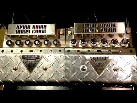 Mesa Boogie V Twin 1st vs 2nd Version