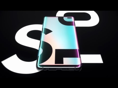 video Samsung Galaxy S10 SM-G9750 Smartphone 6.4″ Mobile Phone