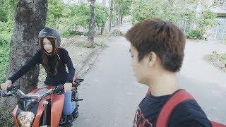 Lần đầu Huy dạy Hương đua mô tô và cái kết bất ngờ   Lan Huong Channel