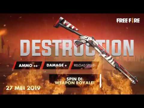 Novo Arma Royale: M1014 Destruição