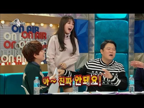【TVPP】Minah(Girl's Day) - Hate Belly Fat, 민아(걸스데이) - 뱃살 사진 공개 거부 @Radio Star