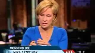 Mika Brzezinski MSNBC anchor refuses 2 air Paris Hilton junk