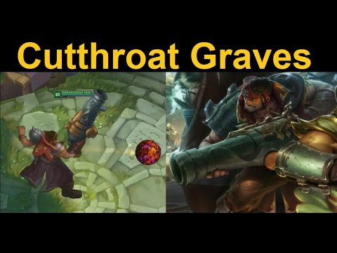 Cutthroat Graves Skin Spotlight Personally I Was Expecting A Suite