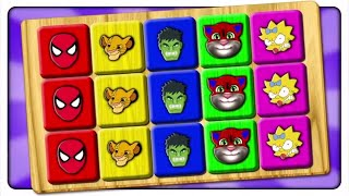 Learn Colors With Spider Man Shapes | Jigsaw Game Puzzle | Kids Patrol Tv