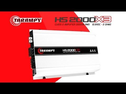 Baixar Módulo Amplificador Taramps HS 2000 X3