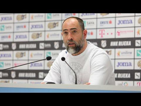 Trener Tudor nakon utakmice Rijeka - Hajduk