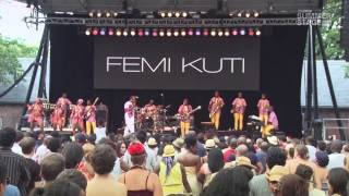 Femi Kuti & Positive Force | 2013 SummerStage Concert Series [FULL]