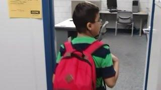 Nine year old whiz kid enrolled in college
