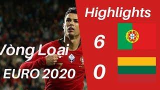 Bồ Đào Nha Vs Lithuania 6-0 | Highlights kết quả bóng đá hôm nay