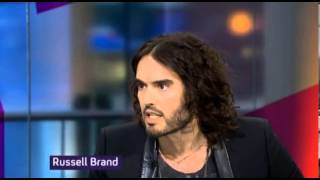 Russell Brand to Channel 4's Jon Snow;