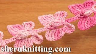 Crochet Butterfly Cord Tutorial 52 Crochet Butterflies