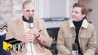 Jeff Goldblum & Tye Sheridan on 'Jurassic World 3' & 'X-Men: Dark Phoenix' | MTV News
